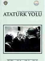 Ankara Üniversitesi Türk İnkılap Tarihi Enstitüsü Atatürk Yolu Dergisi